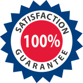 Hughes Exterminators guarantees your 100% total satisfaction